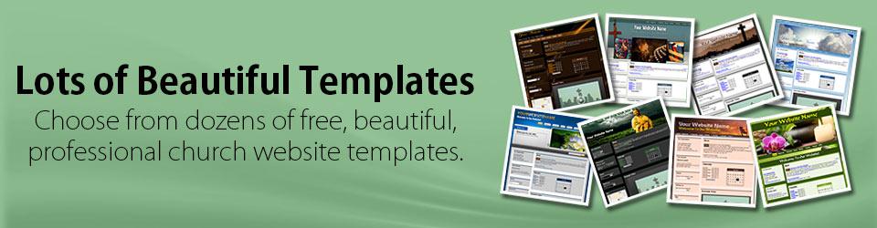 Church Websites Design Templates Hosting Free Trial